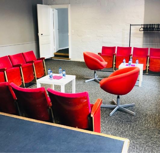 réunions pros ou formations dans Nantes à la Compagnie du Café-théâtre